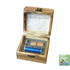 Rollo aluminio R36 + Caja de madera