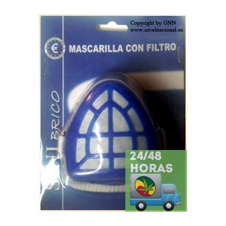 2 mascarillas de proteccion con filtro la fulla grow shop - Mascarillas con filtro ...
