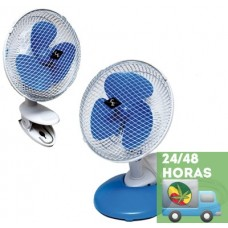 Ventilador pinza, base o pared